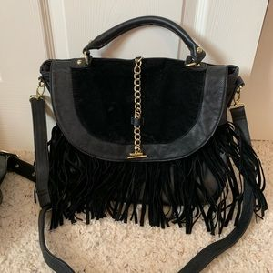 Steve Madden black boho bag